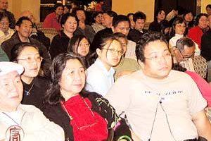 新唐人电视台亚城成功举办首届全球华人新年晚会节目播放晚会