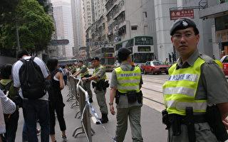 組圖:三百人遊行要普選反「董九條」(2)