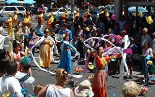 紐約多個華人社團遊行慶祝獨立日