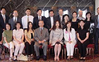 芝加哥華文媒體與台灣駐芝加哥官員共慶記者節