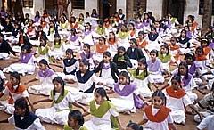 印度法輪大法佛學會隆重成立