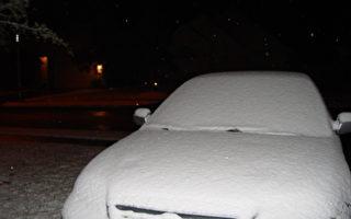 德州沿海诸城打破降雪记录