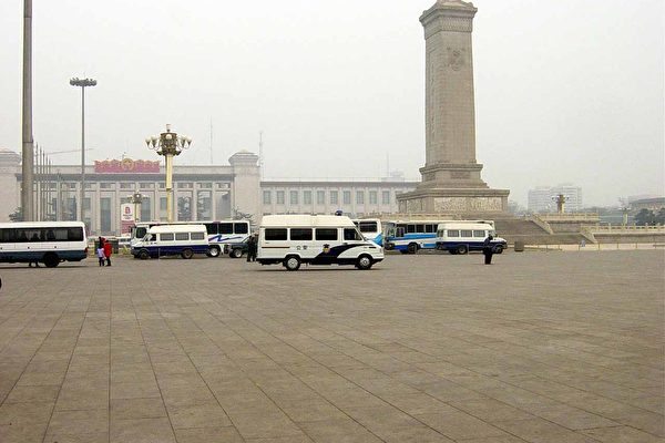 禁祭奠紫阳 北京大量军警空前戒备