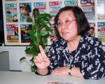 《開放》雜誌執行總編輯蔡詠梅。(大紀元)