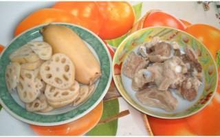 家常菜谱:莲藕三吃