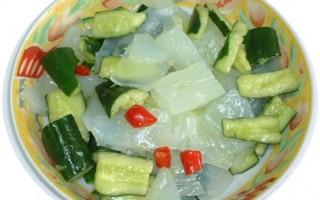 家常菜谱:凉拌小黄瓜