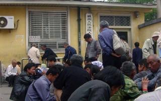 北京各处警察殴打访民