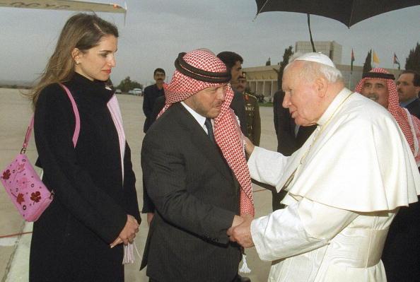 2000年5月21日,教宗AFP/Getty Images