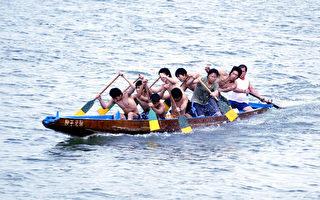 圖片新聞:練習賽龍舟