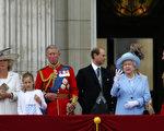 (L-R) 卡蜜拉,查尔斯王子, 爱德华王子, 女王伊利莎和爱丁堡公爵/Getty Images
