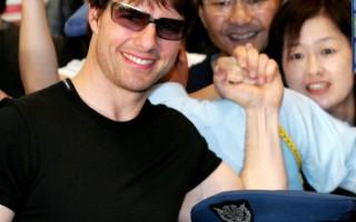 推銷《世界大戰》 湯姆克魯斯抵達日本