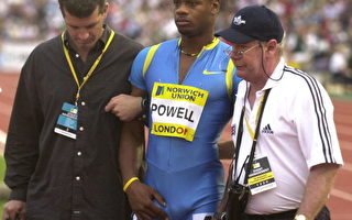 倫敦田徑大獎賽:鮑威爾受傷退出飛人大戰
