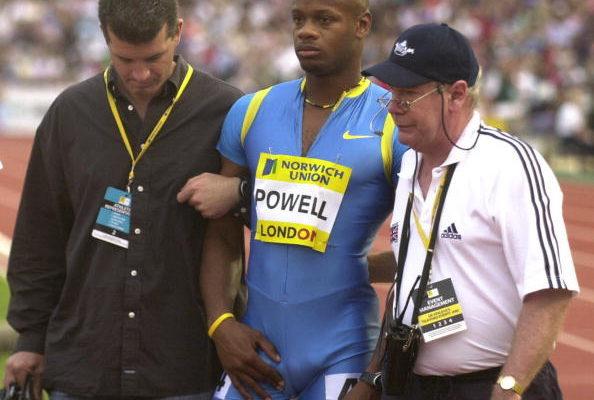 伦敦田径大奖赛:鲍威尔受伤退出飞人大战