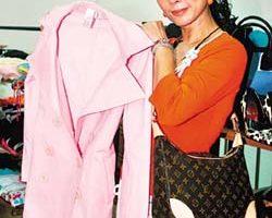 David苦笑女友陳美鳳是購物「狂」 每年清倉義賣「二手衣」