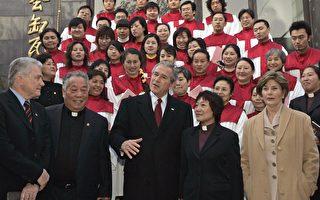 布什訪中 做禮拜談貿易 促宗教自由