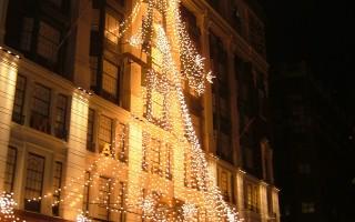 組圖:紐約梅西百貨燈秀 揭聖誕序幕