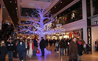 圣诞前夕的斯德哥尔摩市中心