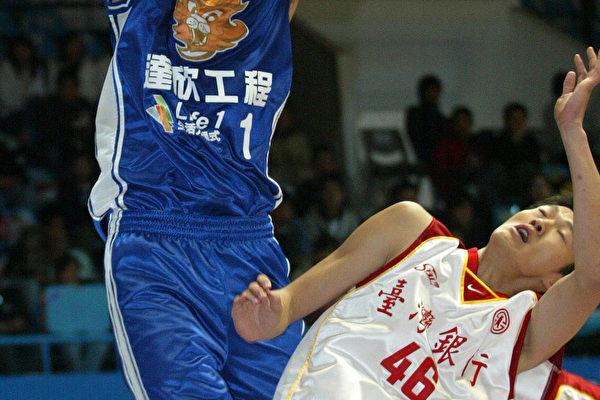 达欣田垒(左)台银岳瀛立(照片提供:ESPN STAR Sports )