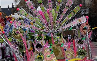 中國新年喜慶溶入費城新年化妝遊行