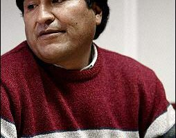 美國希望和玻利維亞總統當選人展開對話