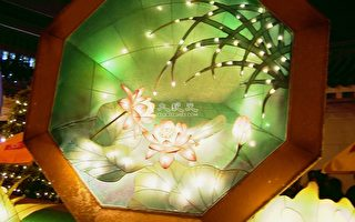 新詩:冬夜裡的花燈