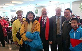 加拿大新民主党党魁给华人拜年
