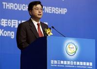 廣東省委書記張德江在香港修補形象
