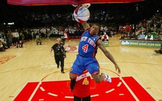 NBA明星赛 三分球:诺威斯基称王 灌篮:罗宾逊登基