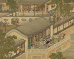 圖為《清畫院畫十二月月令圖七月》局部圖。(公有領域)
