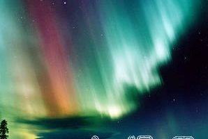 組圖:絢麗多彩的北極光(一)