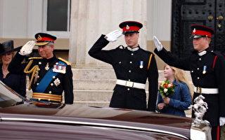 組圖:哈利王子軍校畢業