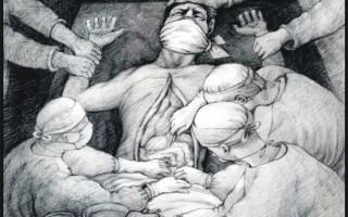 海报:盗卖活体器官移植(三)