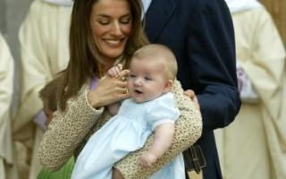 組圖:王室小公主公開亮相