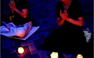 纪念425七周年 休斯顿法轮功抗议中共迫害