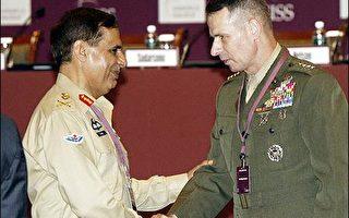 參聯主席培斯將軍籲印度加強與美國軍事合作