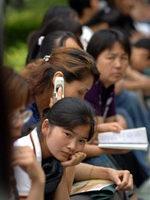 中国高考巨大压力导致学生自杀