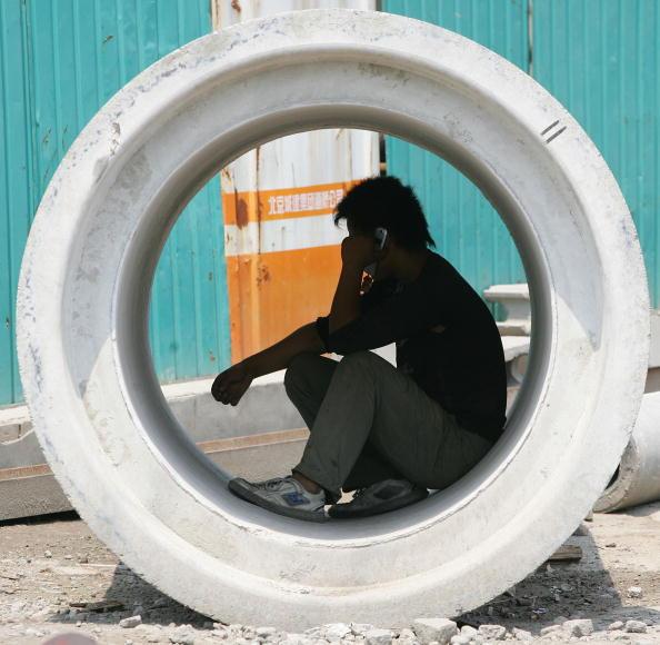 中共的「雙循環」將是中共「十四五」規劃的核心,分析認為,在如今內外環境均跌入冰點、「國進民退」的情況下無法實現。(Guang Niu/Getty Images)