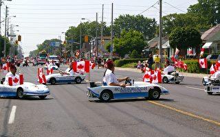 多倫多慶加拿大國慶遊行(圖組)