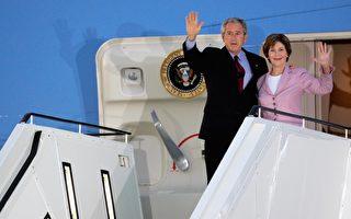 布什访德 默克尔成为美国首席盟友