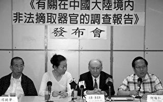許行:中國活摘人體器官罪行