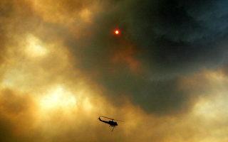 西班牙森林大火 己连烧5日