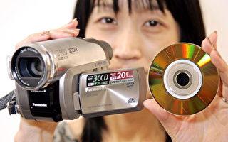 松下首款20倍光學變焦DVD攝像機面世