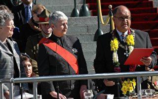 新西兰新任总督阿南德·萨蒂亚南德宣誓就职
