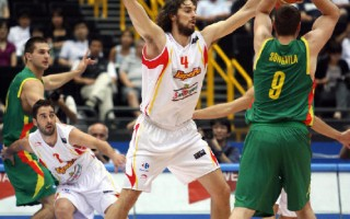 世篮赛 西班牙阿根廷 4强决战