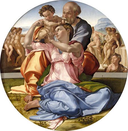 开兰基罗《圣家族像》。(公有领域)