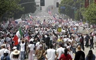 非法移民争合法 新一轮移民抗议开始