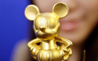 圖文:黃金「米奇」日本亮相