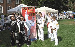 特拉華紐瓦克社區日上的東方文化