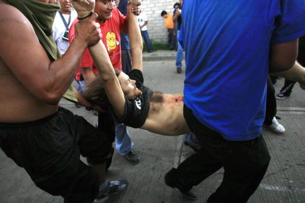 墨西哥抗議活動爆發槍戰三人喪生