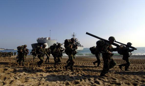 組圖:韓國史上最大規模登陸演習
